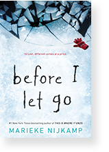Cover image of Before I Let Go by Marieke Nijkamp