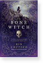 Cover image of The Bone Witch by Rin Chupeco