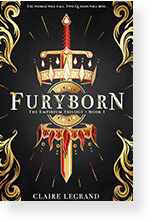 Cover image of Furyborn by Claire Legrand