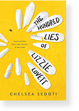 Cover image of The Hundred Lies of Lizzie Lovett by Chelsea Sedoti
