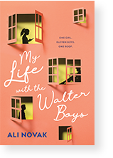 Cover image of My Life with the Walter Boys by Ali Novak