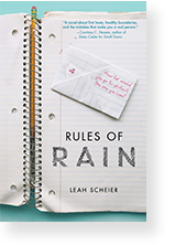 Cover image of Rules of Rain by Leah Scheier