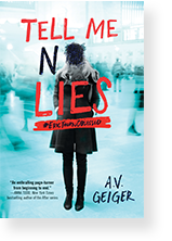Cover image of Tell Me No Lies by A.V. Geiger